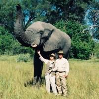 Ane & Jack in Botswana