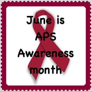 APS awareness month stamp