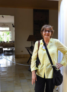 18-Anne Sigmon at La Finca Vigia